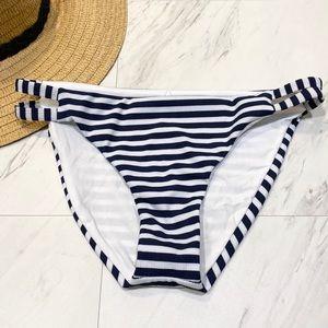 New! Splendid Never Enough Stripe Bikini Bottoms S